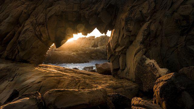 Saltpoint Arch, Sonoma County Coast, California