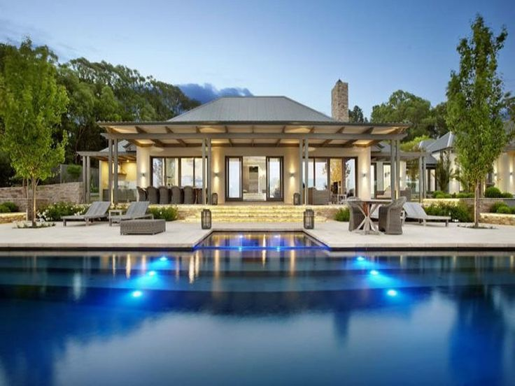 contemporary architecture coastal with exposed rafters