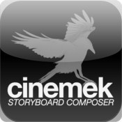 Storyboard Composer for iPhones    http://itunes.apple.com/us/app/storyboard-composer/id325697961?mt=8#