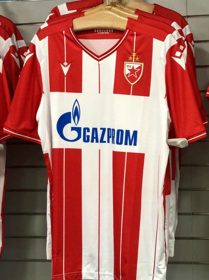Red Star 19 20 Home Kit Released Footy Headlines Red Star Red Star Belgrade Trademark Look