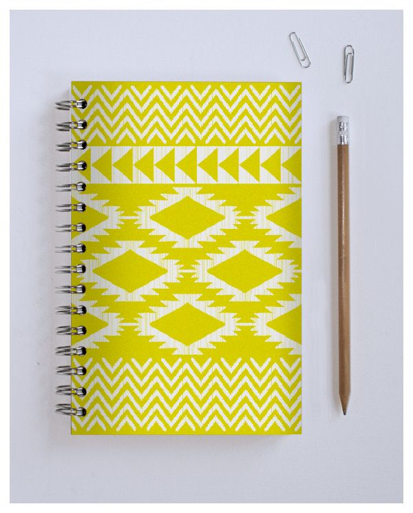 Lined Notebook - Kilim