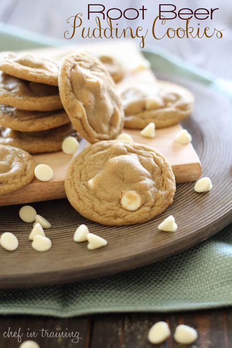 Root Beer Float cookies... these look amazing!