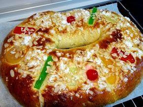 Receta Roscón de Reyes - Recetas de cocina, paso a paso, tutorial - YouTube