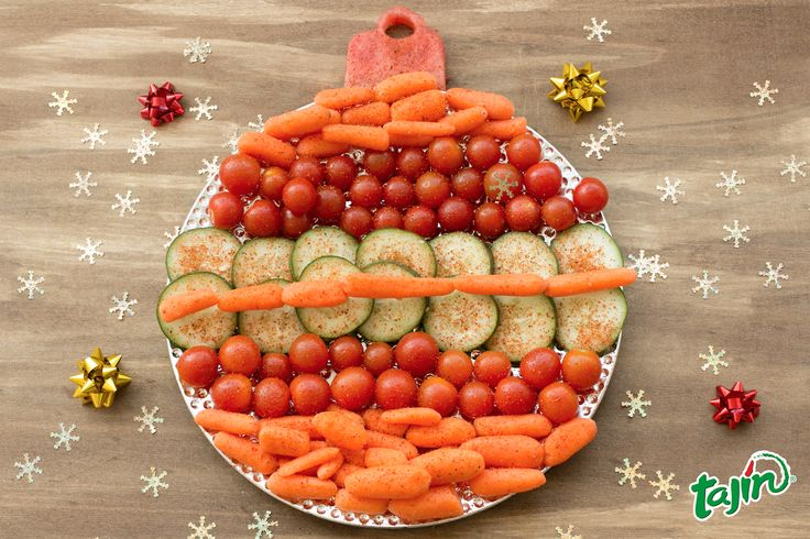 Ornament your veggie platter with Tajín