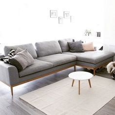 EDNA Chaiselong - #contemporary #classic #scandi Shop yours HERE: http://za.sofacompany.com/pr…/sofas-and-armchairs/chaiselong