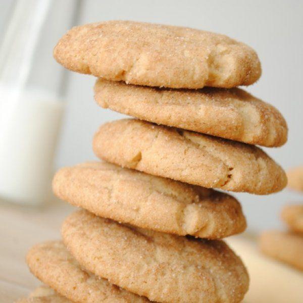 Γρήγορη συνταγή: Μυρωδάτα μπισκότα βουτύρου, με μόλις 3 υλικά!