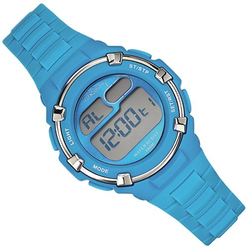 Tekday Digitaal Kinderhorloge 100m Lichtblauw - 653800 | ✔ Tekday Kinderhorloges | Kinderhorloges.nl