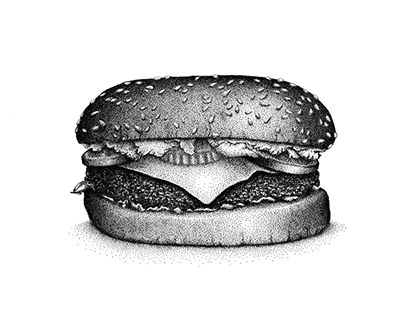 "Check out new work on my @Behance portfolio: ""Burger"" http://be.net/gallery/31153423/Burger"