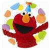 Elmo's Party Dinner Plates. Include 8 paper plates per package.