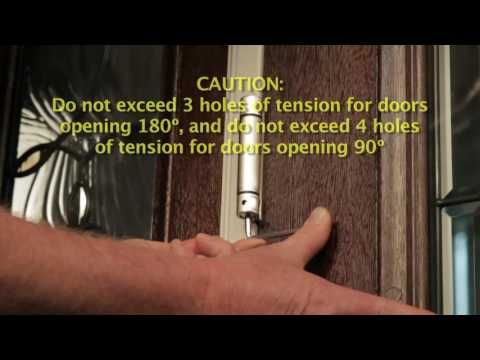 How to Adjust Spring Loaded Hinges - YouTube