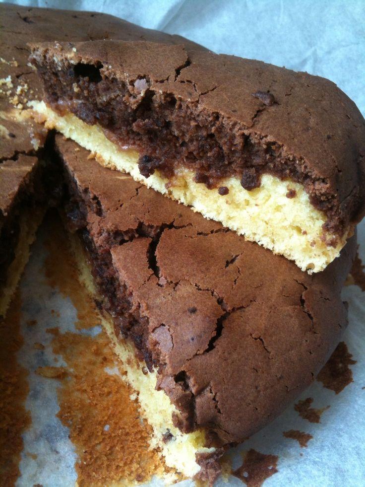 ⇒ Bimby, le nostre Ricette - Con e Senza Bimby, Torta Due Colori con Mascarpone e Marmellata