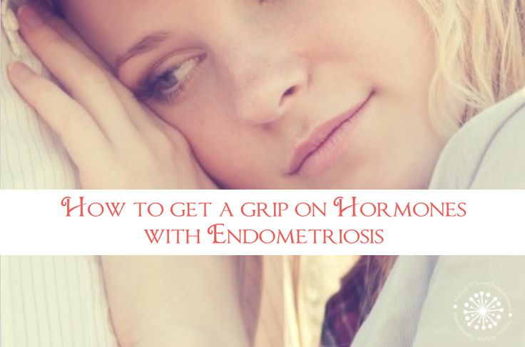 Discover 5 ways to get a Grip on your hormones with endometriosis