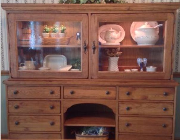 Broyhill Attic Heirloom Dining Hutch ❤️