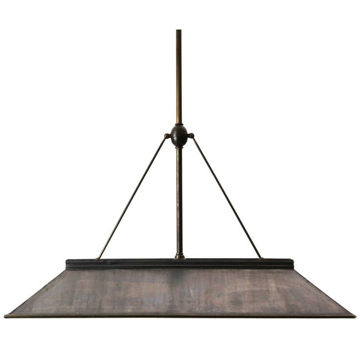 Billiards Table Lamp by Frink | From a unique collection of antique and modern chandeliers and pendants  at http://www.1stdibs.com/furniture/lighting/chandeliers-pendant-lights/