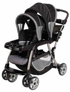 Graco Ready2Grow Stand and Ride Stroller LX