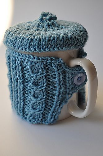Jaunty Mug Sweater and Tam - I'm usually careful about saying I need something, but I think I may need this.