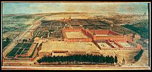 l palacio del Buen Retiro de Madrid fue un conjunto arquitectónico de grandes dimensiones diseñado por el arquitecto Alonso Carbonel (h. 1590–1660) y construido por orden de Felipe IV como segunda residencia y lugar de recreo (de ahí su nombre). Se edificó en lo que entonces era el límite oriental de la ciudad de Madrid. Hoy en día se conoce por los escasos vestigios que quedan de él y por sus jardines, que hoy conforman el Parque del Retiro.