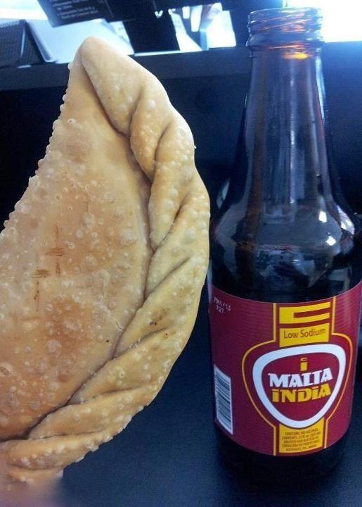 Empanapizza Con Malta Almuerzo De La Escuela Para Los Q No Kerian Almorzar En