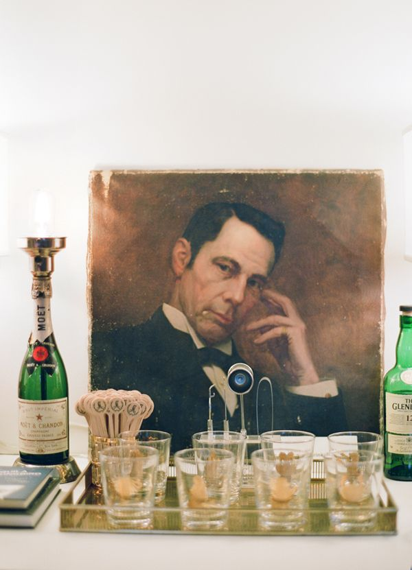 I'd have a drink with this dapper fella anytime, wouldn't you? #vintagebar