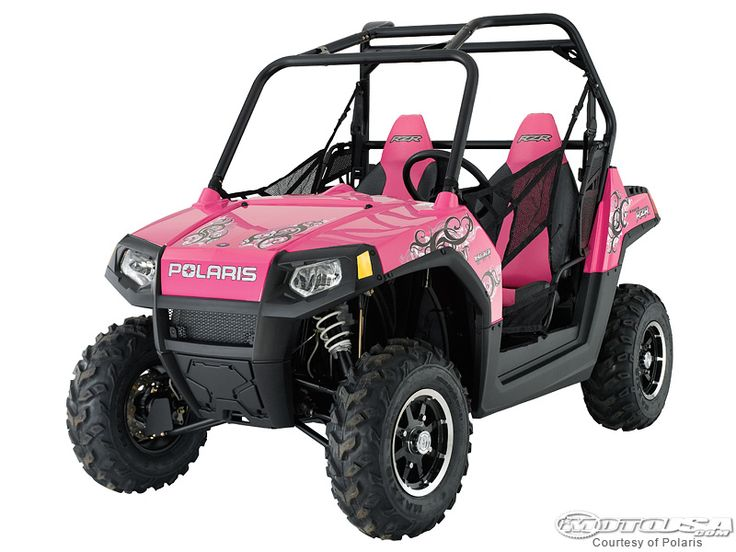pink ranger side by side | Polaris Announces Limited Edition ATVs - Motorcycle USA