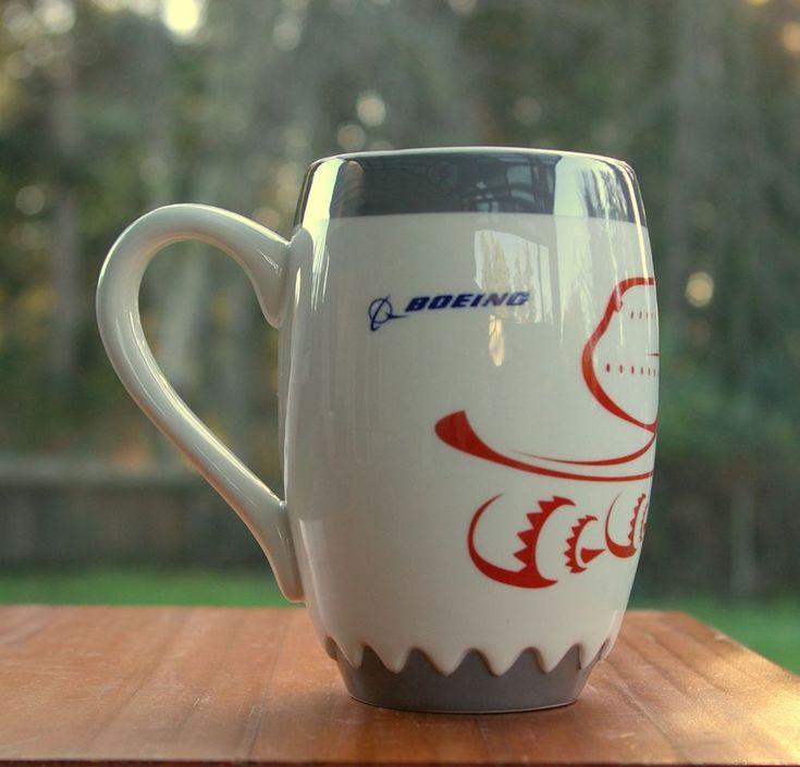 Boeing 747-8 Intercontinental Aircraft Engine Shaped Coffee Mug  | eBay
