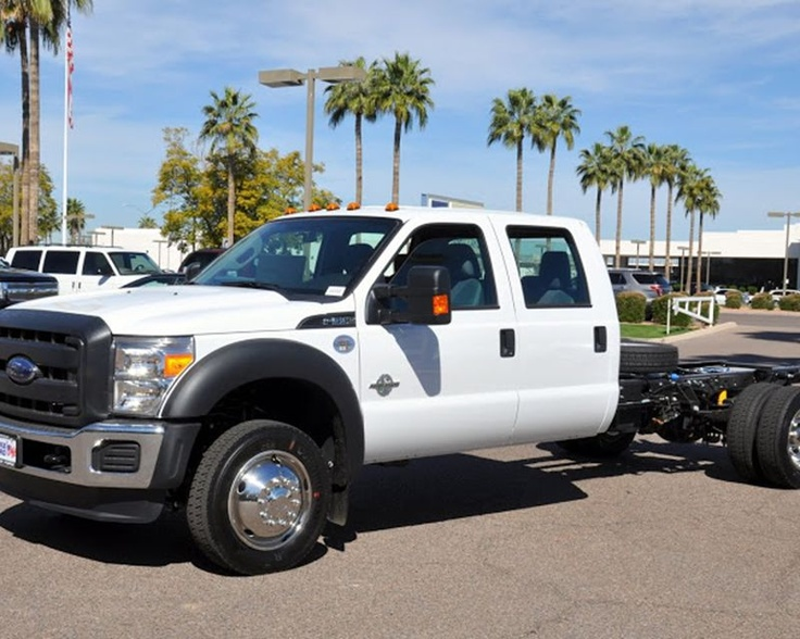 2013 Ford F550 cab & chassis from Berge Ford in Mesa, ...