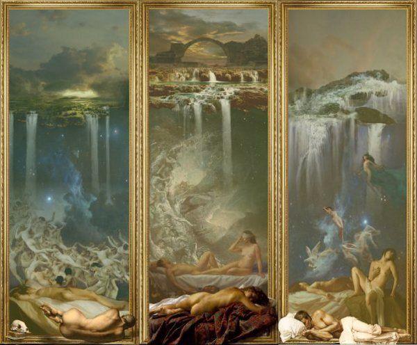 Νύμφες και σάτυροι ξυπνούν υπό τον ήχο των υδάτων