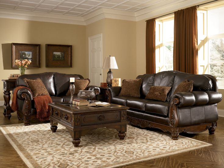 Best 25+ Ashley leather sofa ideas on Pinterest | Ashleys ...