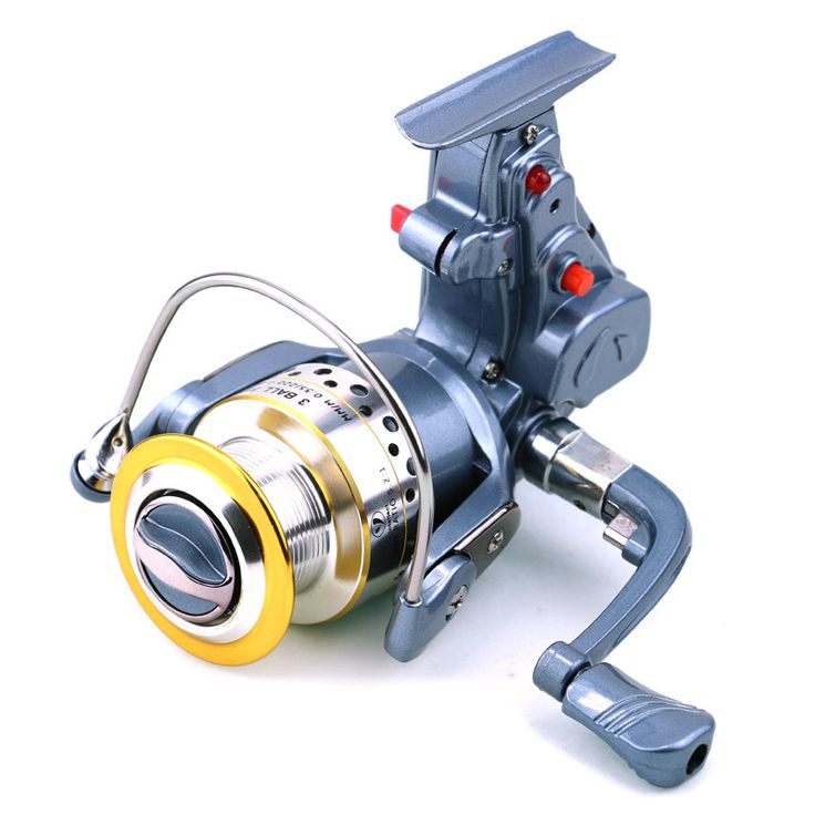 New electric/automatic spinning Reel 1pcs Fishing Tackle 5.2:1 3BB SSK-II 4000 hengjia electric Fishing Reels/spinning reel