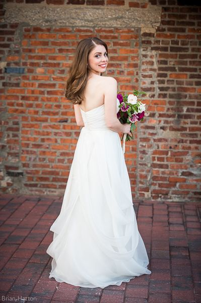 Angelo Lambrou wedding gown, Ariel Dearie Flowers, Brian Hatton Photography