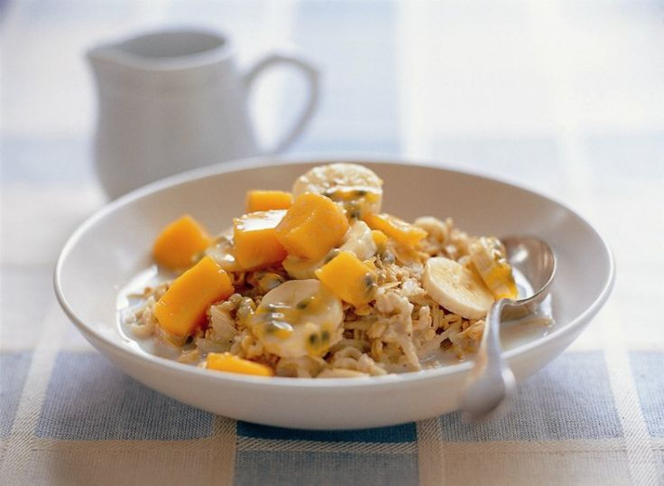 Bircher muesli with tropical fruit | The Heart Foundation