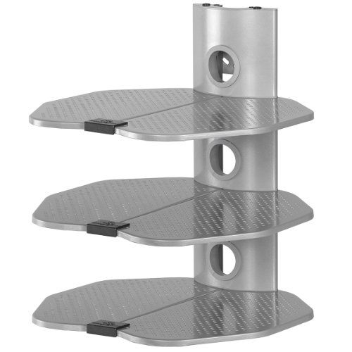Cheetah Mounts As3s 3 Tier Electronic Component Shelf Wall