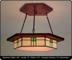 Craftsman Style Dining Room Lighting Fixture by MissionStudio, $699.00