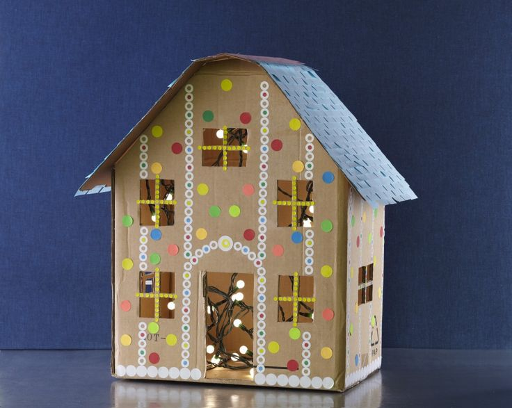 faux gingerbread house  idea from danny seo  author
