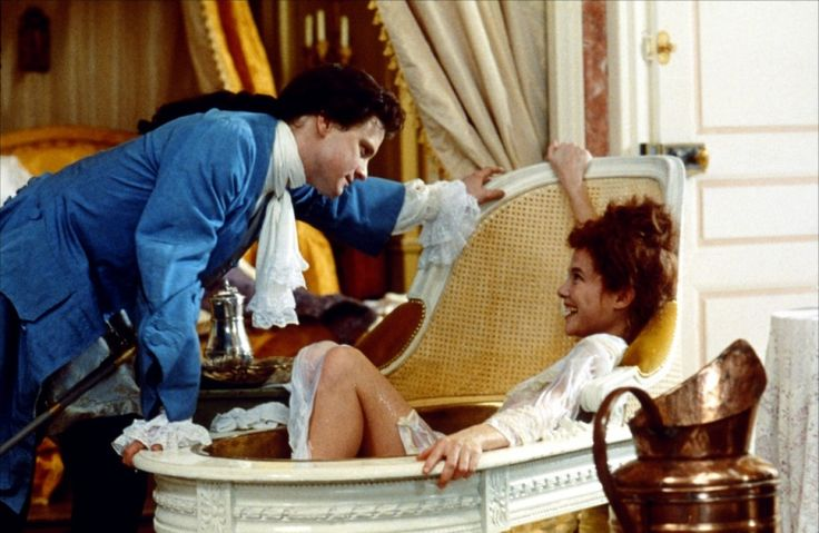 Colin Firth & Annette Bening in Valmont