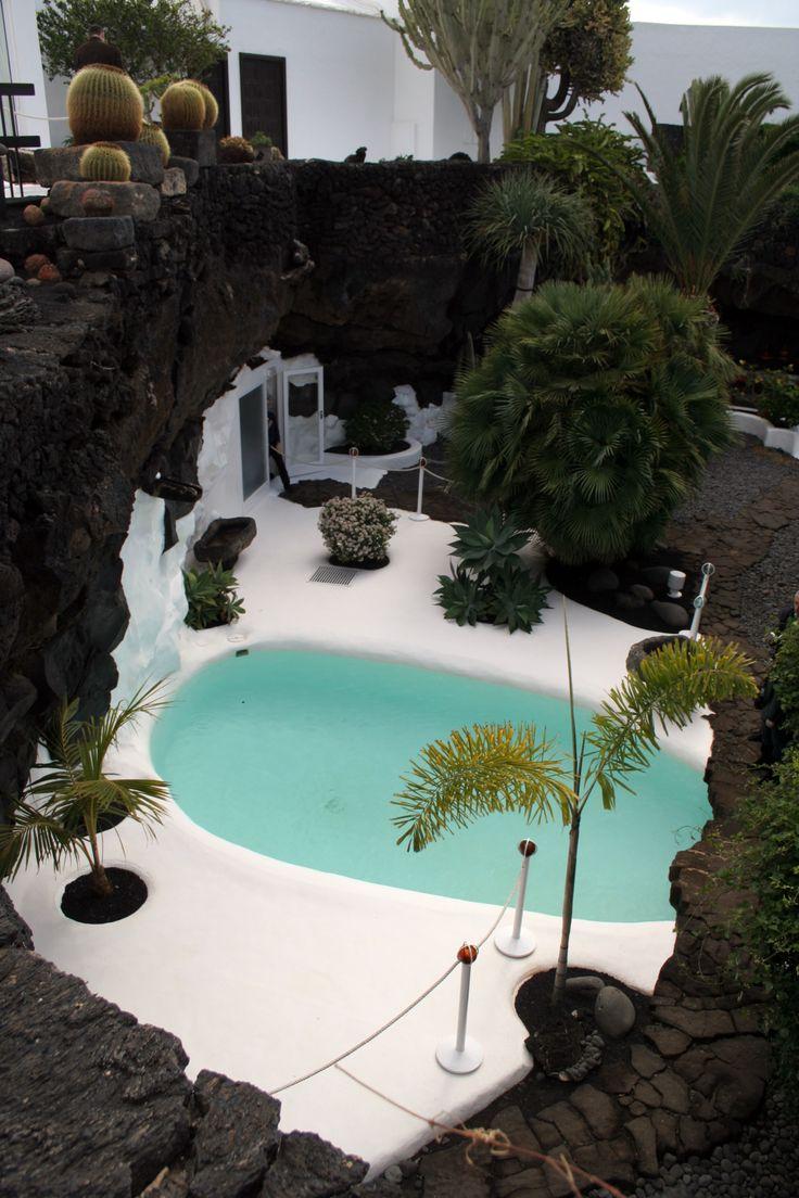 The house of artist cesar manrique lanzarote built in a - Lanzarote casa de cesar manrique ...
