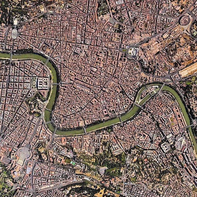 City of the Seven Hills | Rome | Italy Image from Apple Maps/TomTom
