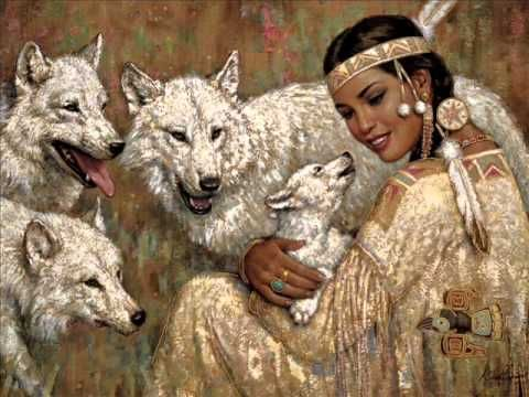 Wonderful Native American Indians, Shamanic Spiritual Music, Música De Los Nativos Indios Americanos - YouTube