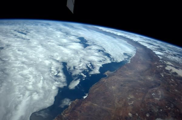 I love flying over the west coast of South America. October 08, 2014