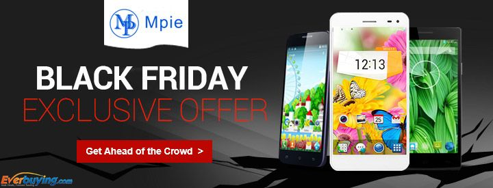 Black Friday Exclusive Offer: Take 63% OFF + Free Shipping for MPIE 909T Android 4.4 3G Smartphone with 5.5 inch HD Screen MTK6582 Quad Core 1.3GHz 8GB ROM.