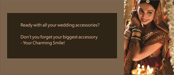 Look and feel absolutely gorgeous on your wedding. We bring you specialized Bridal Smile Makeover services to ensure that all eyes stay on you, on the very special day of your life. Visit Bridal Dental Center for appointment.