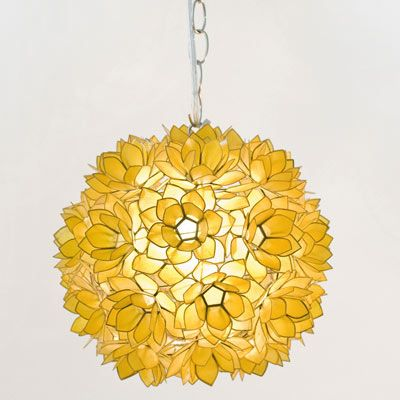 Worlds Away Venus Pendant Gold lamp lighting