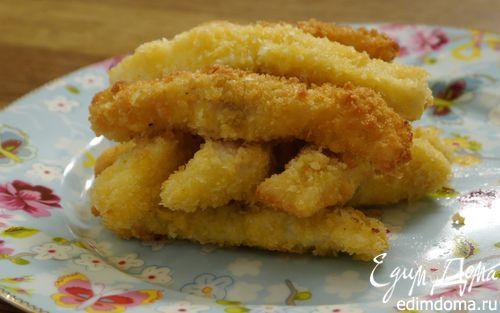 Домашние рыбные пальчики   Кулинарные рецепты от «Едим дома!»