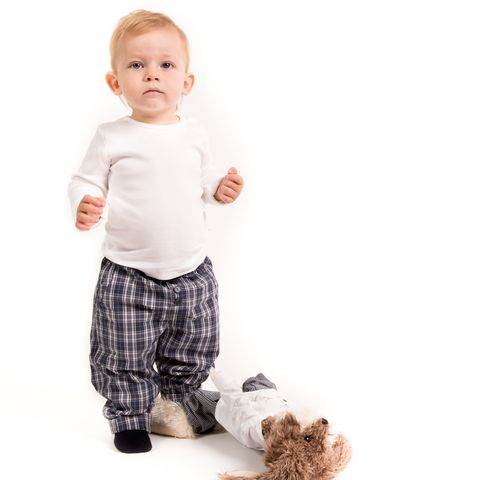 Trousers Anders Crisp Check Dress up your kids in clothes that are built to play in!  #wheatkids #fallforwheat #builttoplay