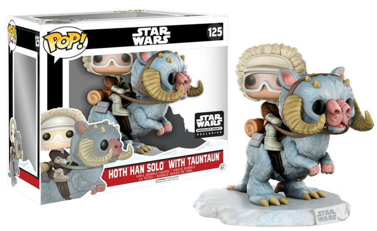 Pop! Star Wars - Hoth Han Solo with Tauntaun