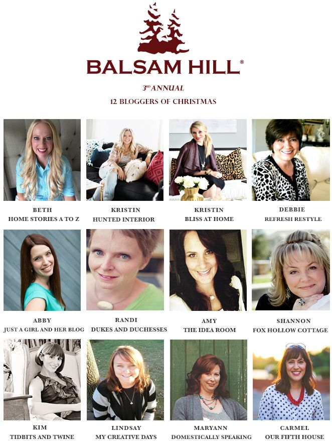 12 bloggers of Christmas - Balsam Hill - www.foxhollowcottage.com