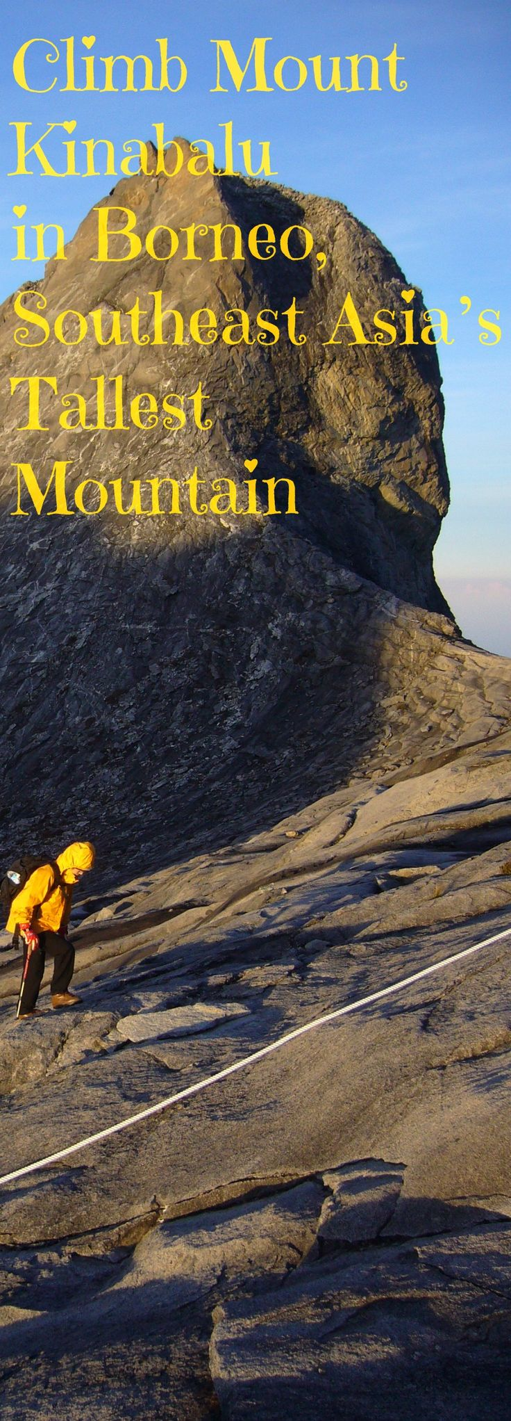 Climb Mount Kinabalu in Borneo, Southeast Asia's Tallest Mountain    Mt. Kinabalu is known to be one of the most accessible mountains in the world.