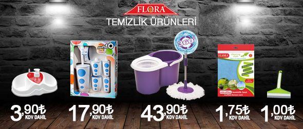 Flora temizlik ürünleri stoklarımızda! Ürünleri incelemek ve satın almak için tıklayınız! http://goo.gl/VqGGqK