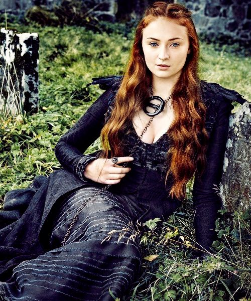 gameofthronesdaily: Sophie Turner as Sansa Stark for Entertainment Weekly.