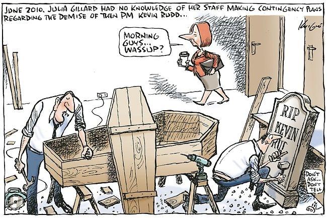 June 2010 Contingency Plans regarding Kevin Rudd's demise. (15 February 2012)
